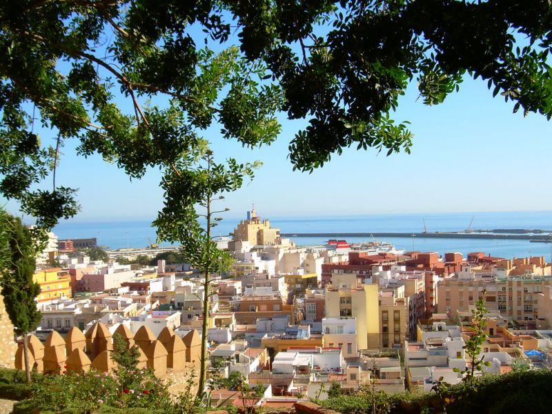 Photo du port d'Almeria (Andalousie - Espagne)