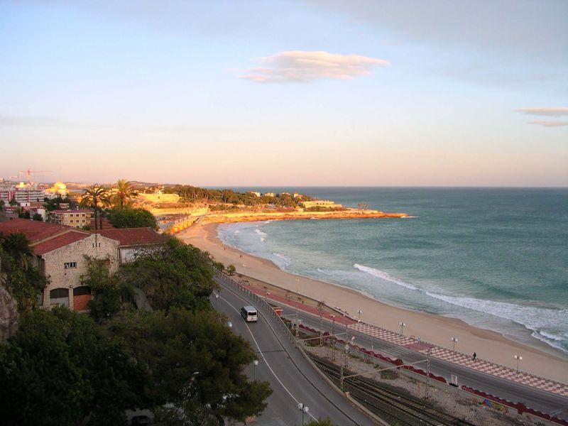 Photo de la Méditerranée vue depuis Tarragone