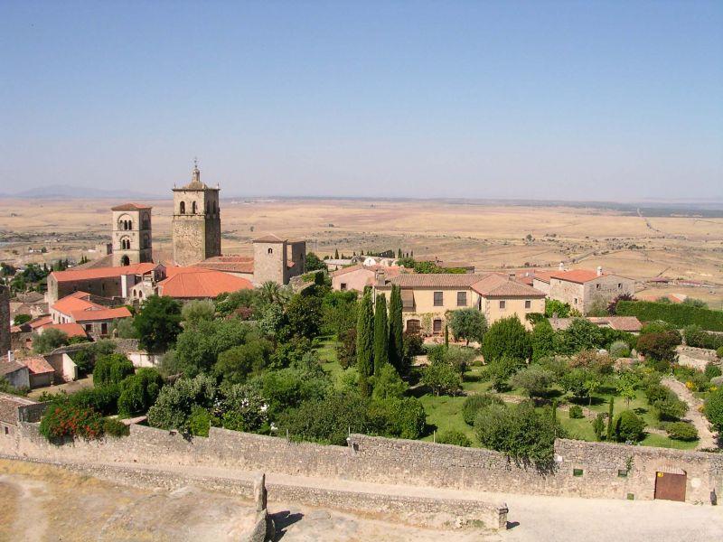 Photo de Trujillo et des paysages environnants.