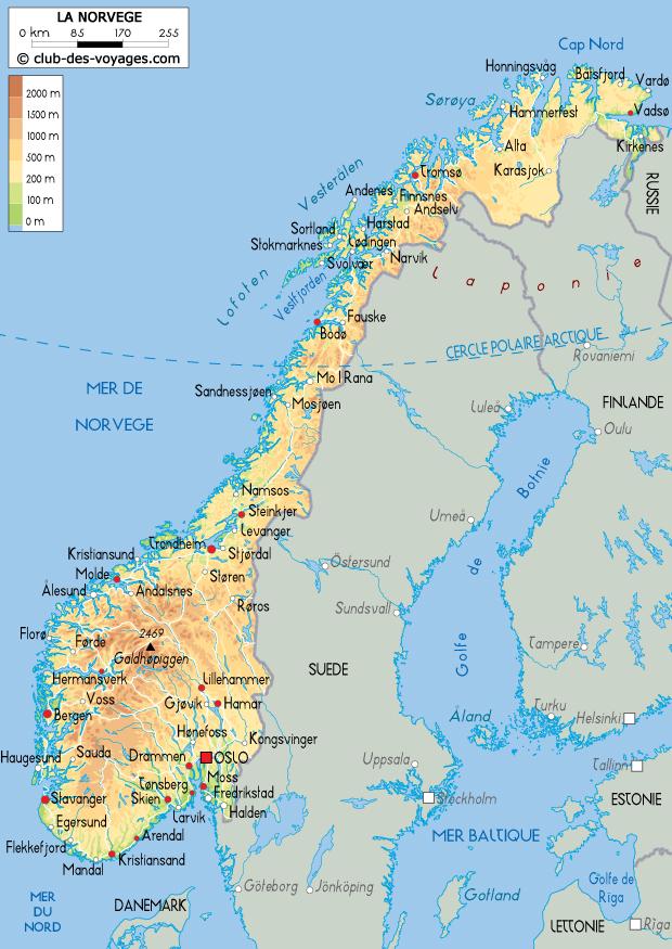 norvege-carte