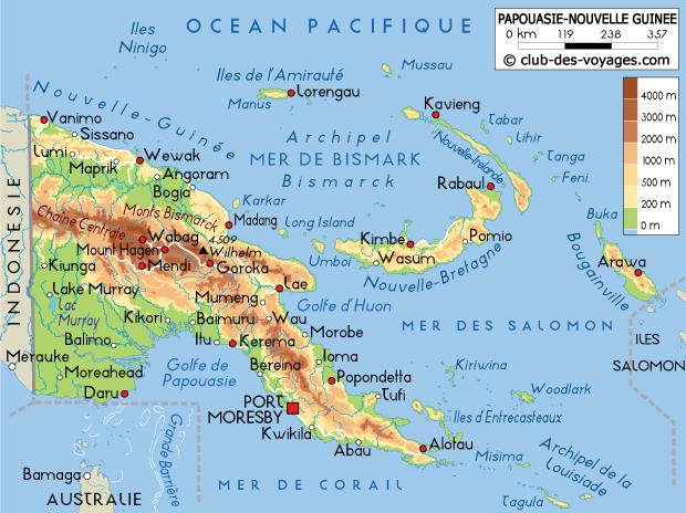 papouasie-carte
