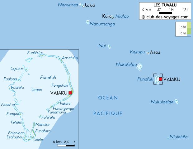 carte de tuvalu