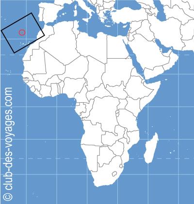 Situation géographique de l'ile de Madère   Club des Voyages