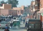La ville moderne de Marrakech