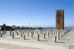 La tour Hassan et le mausolée Mohamed V