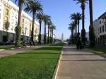 La ville moderne de Rabat