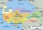 Les régions de Turquie