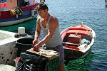 Vie quotidienne à Santorin