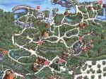Plan du parc Xcaret