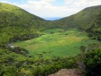 Le cratère de Monte Brasil