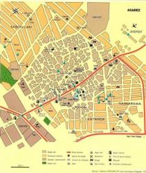 Carte touristique d'Agadez