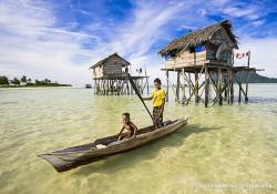 Les Bajaus, peuples nomades de la mer