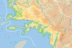 Carte de la province de Muğla