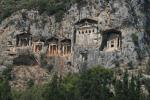 La nécropole de Kaunos