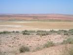 Paysage désertique entre Azaila et Belchite