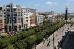 Le centre moderne de Tunis