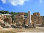 Les ruines de Carthage