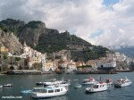 Amalfi vu du port