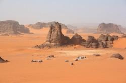 En 4x4 dans le Sahara algérien