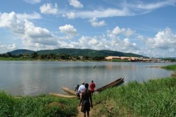 L'Oubangui près de Bangui