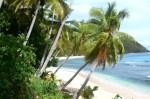 La baie Likuliku sur l'île de Waya