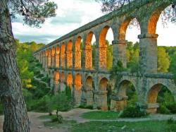 L'aqueduc romain de Tarragone