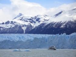 Le glacier Perito Moreno vu du lac Argentino