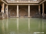 Le grand bassin des thermes de Bath