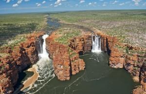 Les chutes du roi George (Kimberley)