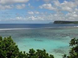 Les eaux turquoises de Guam