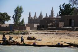 Mosquée de Saba près du fleuve Niger