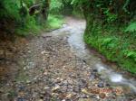 Bodenaya / Campiello (25 km) - Enorme pluie