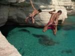 Plongeon à Minorque