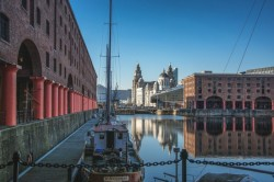 The Albert docks