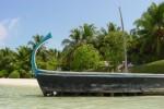 Un dhoni (embarcation traditionnelle)