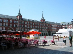 Vue de la Plaza Mayor de Madrid