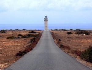 Phare sur l'île de formentera