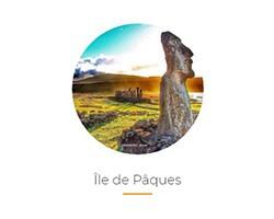 L'île de Pâques avec l'office de tourisme du Chili