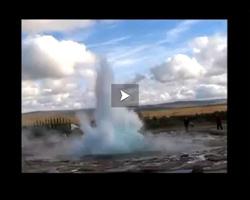 Geysir et les geyser de gulfos