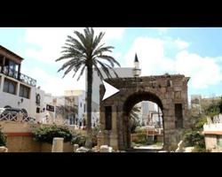 Le vieux Tripoli déserté à cause de la guerre