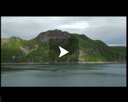 Mer de Béring: la péninsule d'Alaska depuis la baie Chignkik jusqu'à l'île Aghiyuk