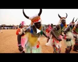 Festival de la communauté Nouba au Soudan