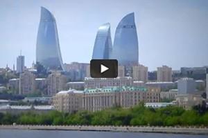 Les tours-flammes de Bakou