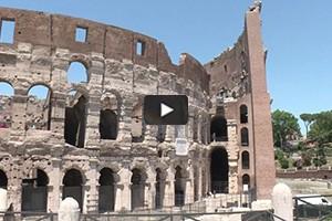 Les arcades du Colisée restaurées
