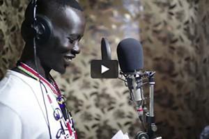 Lual D'Awol, rappeur au Soudan du Sud