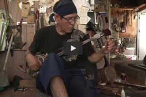 Un instrument en peau de serpent d'Okinawa défie le temps