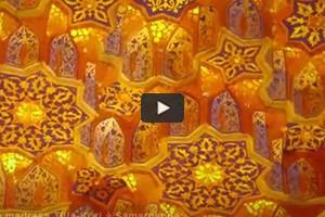 La splendeur de la madrasa Tilla-Kori à Samarcande