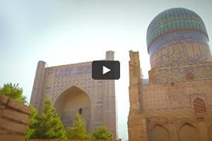 La mosquée Bibi-Khanym, joyau d'Ouzbékistan
