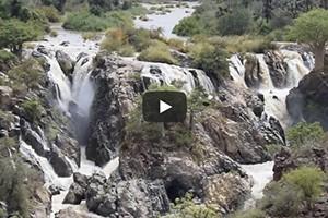 Les chutes d'Epupa
