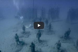 Le Museo Atlantico, le premier musée sous la mer